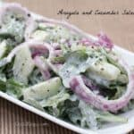Arugula and Cucumber Salad