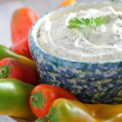 Mom's Awesome Veggie Dip