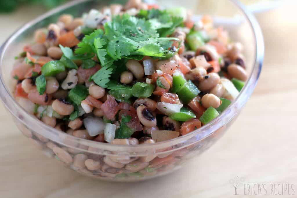 New Year's Eve Black-Eyed Pea Salsa