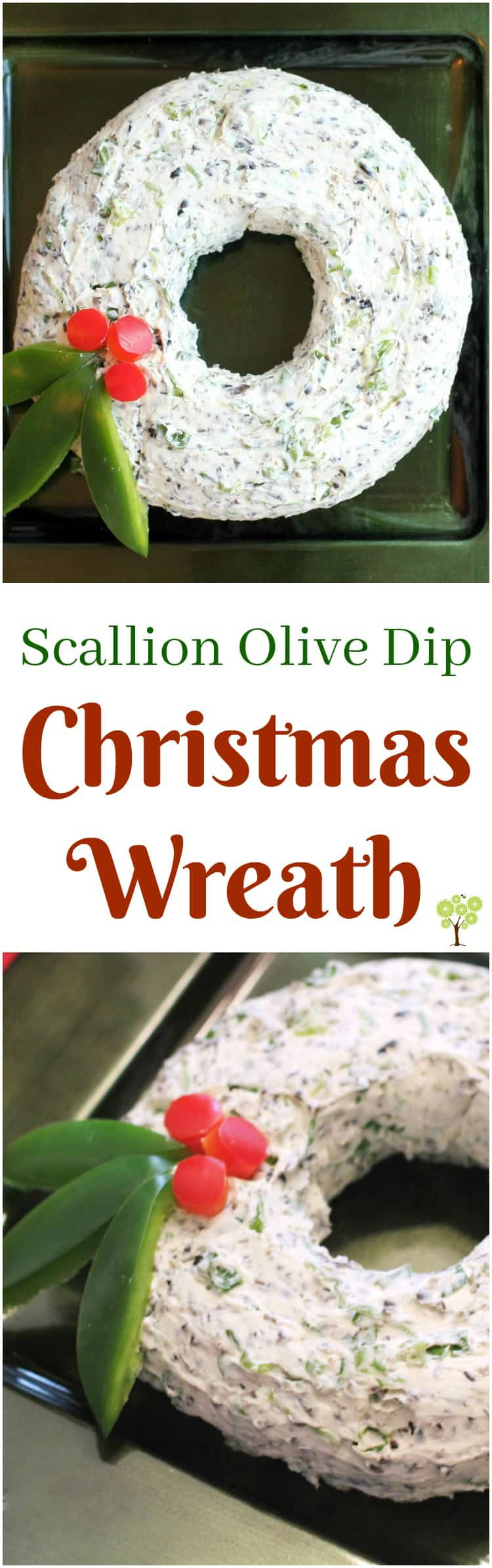 Scallion Olive Dip