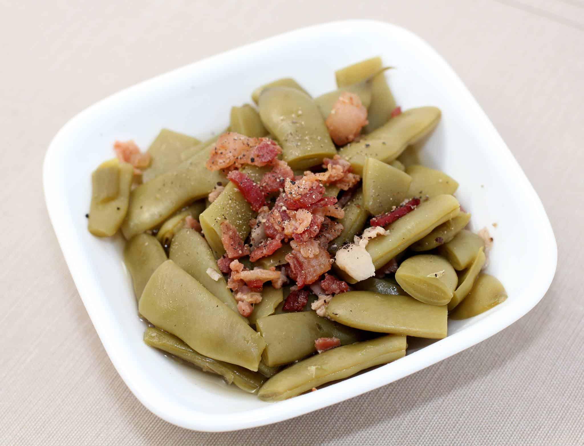 Smoky Italian Green Beans