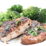 Pork Chops in White Wine and Balsamic Vinegar