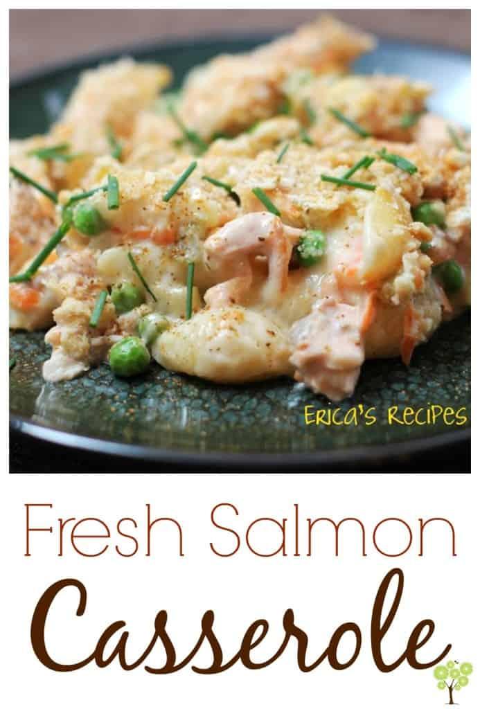 Fresh Salmon Casserole from EricasRecipes.com