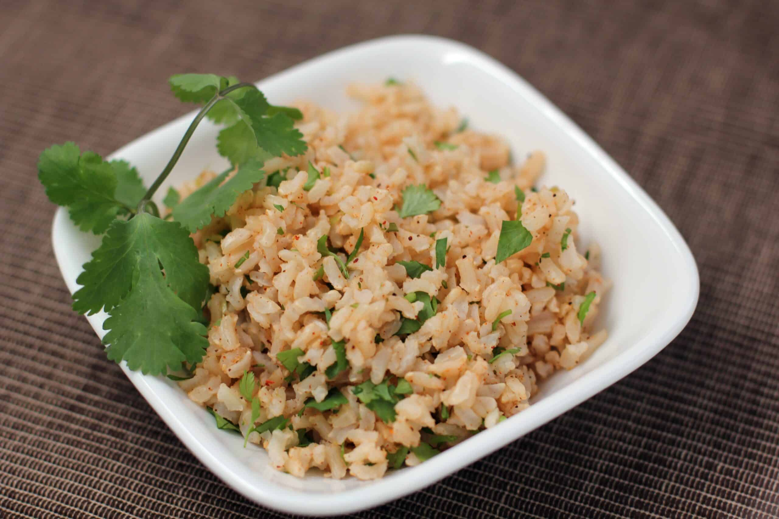 Favorite Lime Brown Rice
