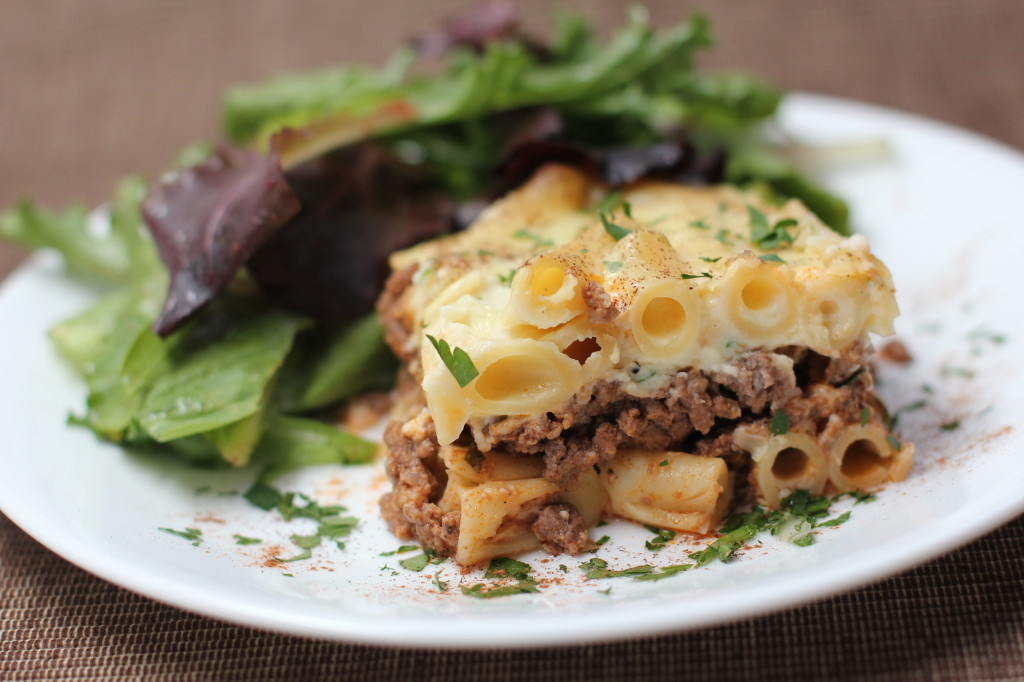 Pastitsio from EricasRecipes.com