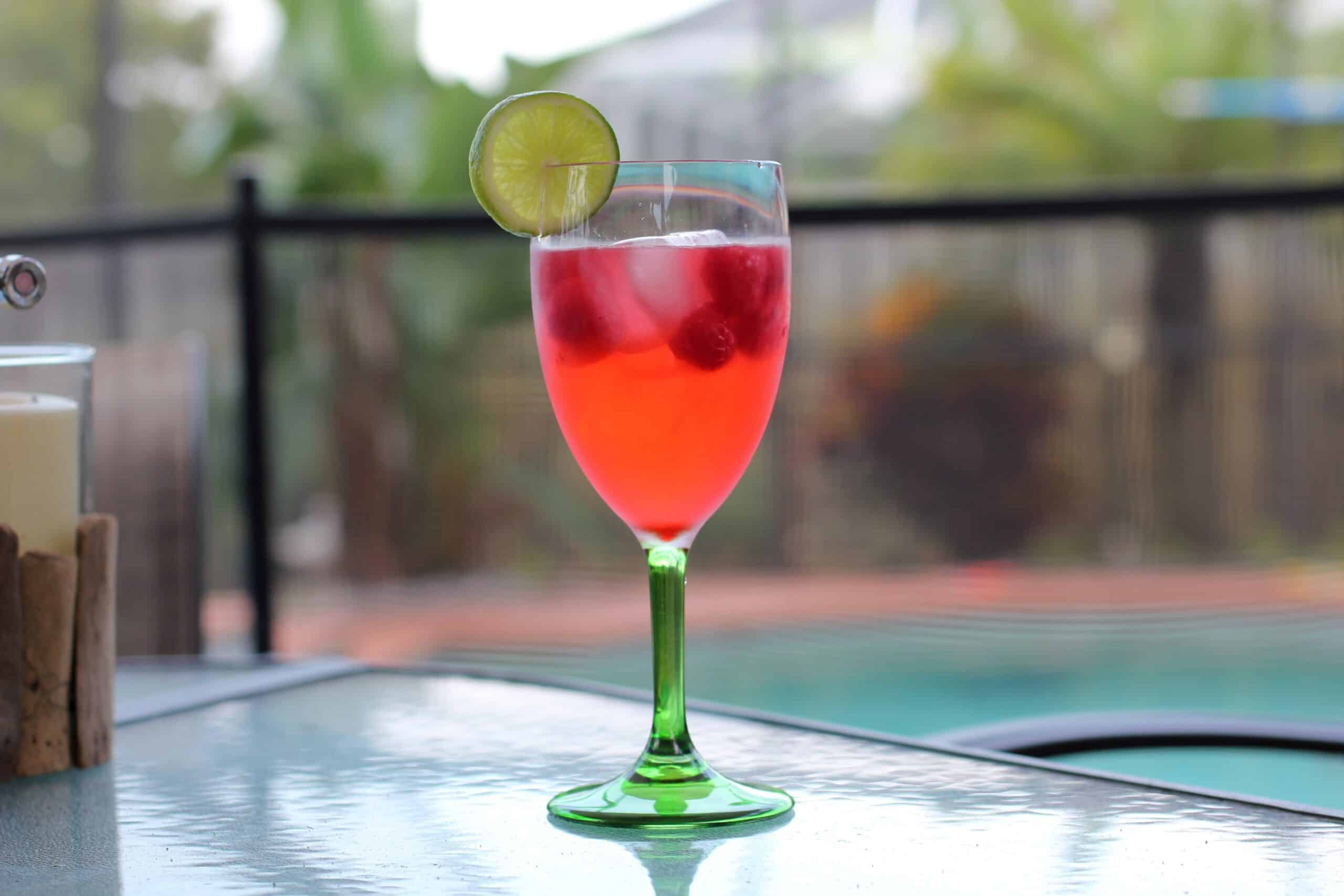 Cher-Raspberry Lime Spritzer