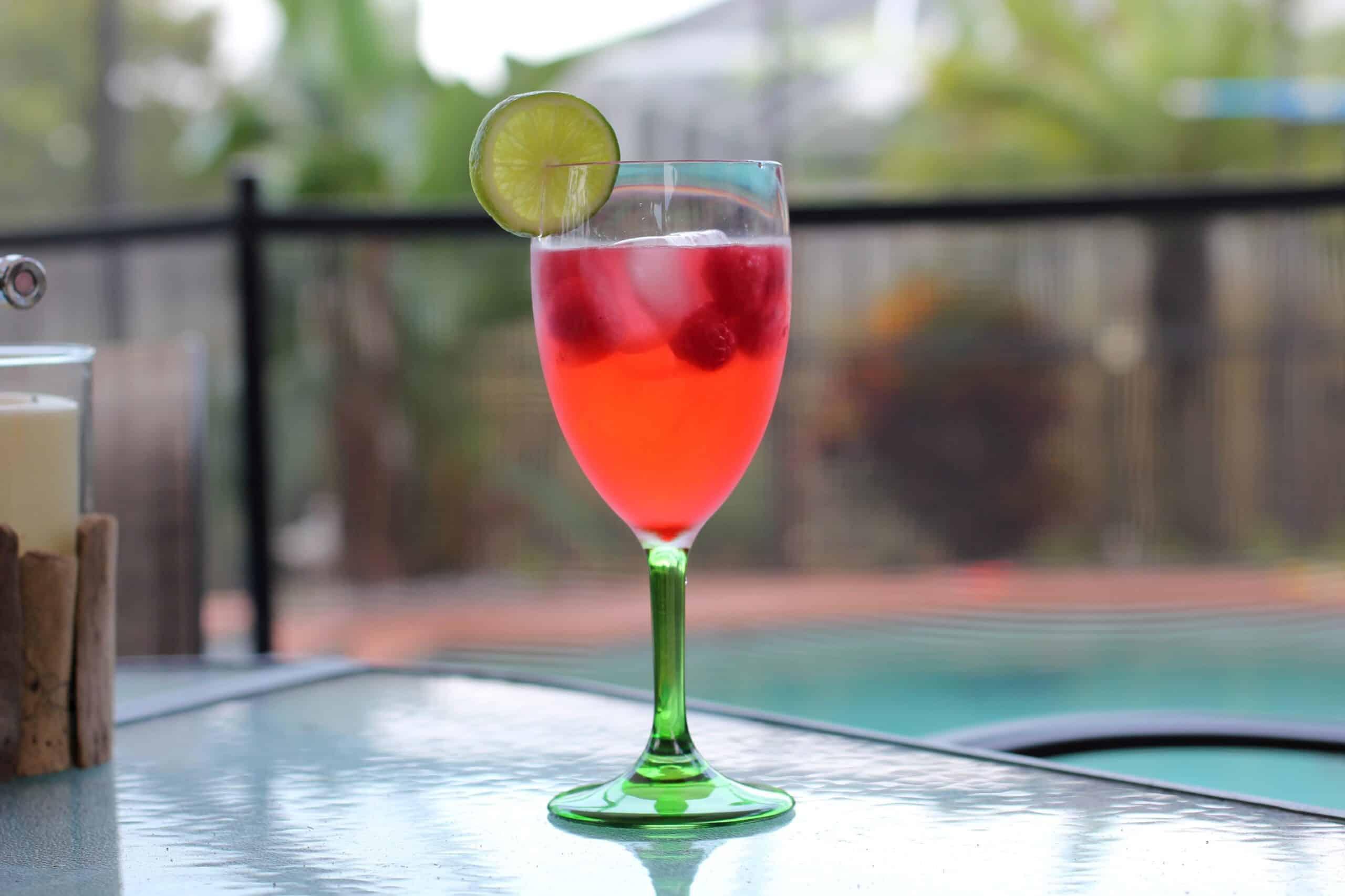 Cher-Raspberry Lime Spritzer