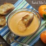 Roasted Yellow Tomato Soup
