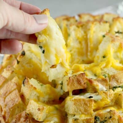 Cheesy Stuffed Garlic Bread