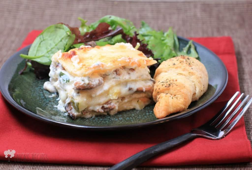 End of Summer Lasagna | EricasRecipes.com