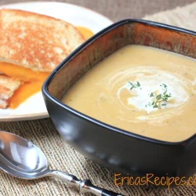 Butternut Squash Soup Marsala Bacon Thyme