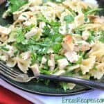 Chicken and Bowtie Pasta with Lemon and Herbs {Healthy Week Lunch Series}