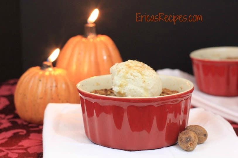 maple pumpkin crisp