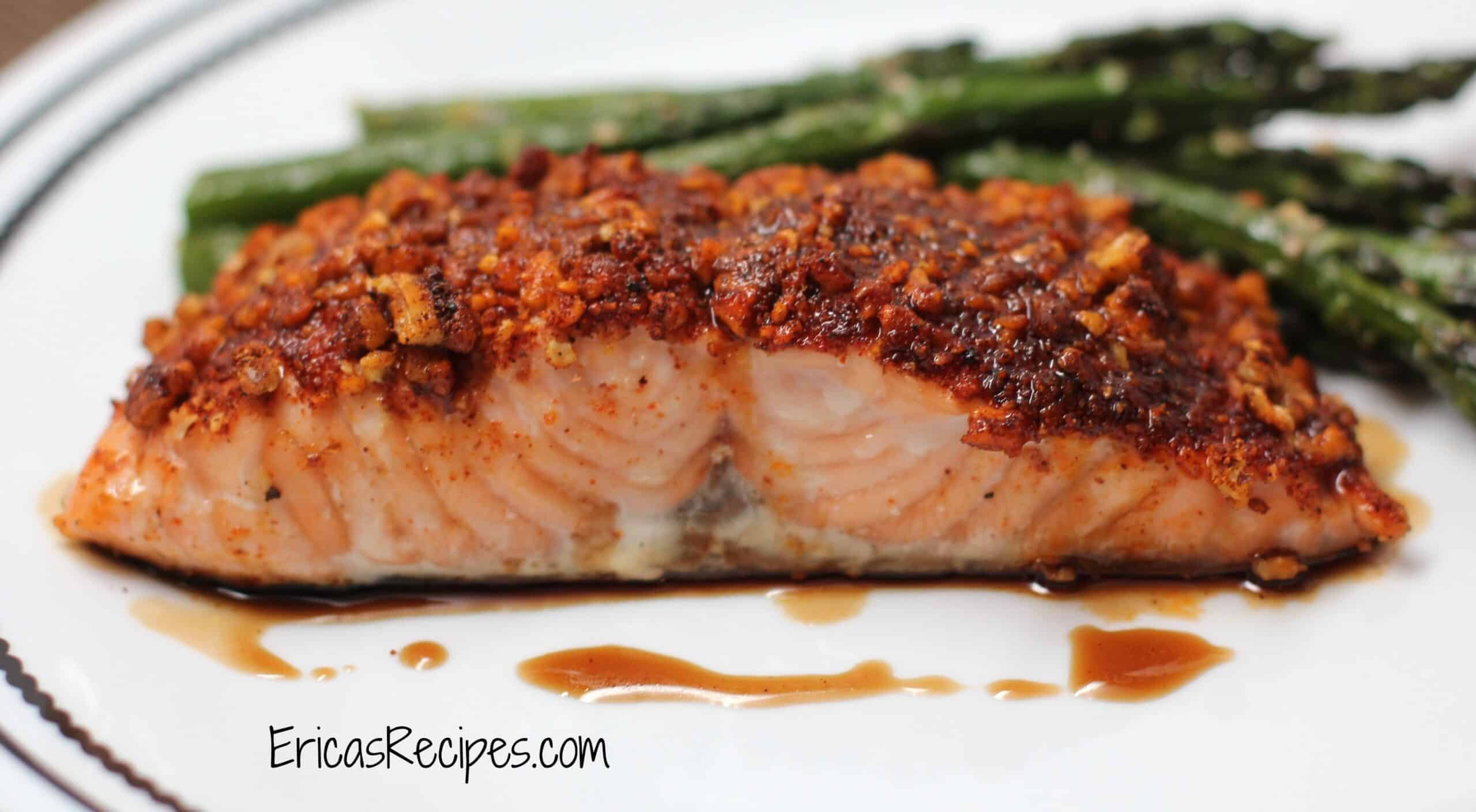 ... quick and easy pecan crusted dijon salmon quick and easy pecan crusted
