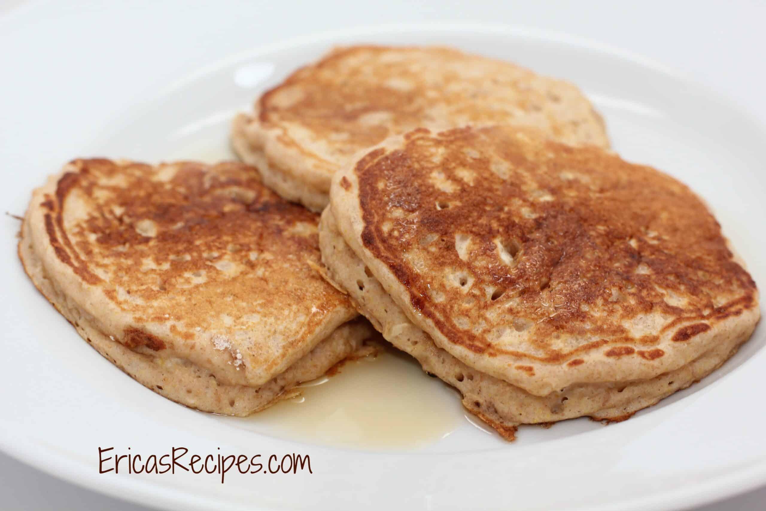 Preworkout Oatmeal Buttermilk Pancakes