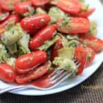 Tomato and Baby Artichoke Salad