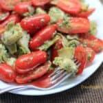 Tomato and Baby Artichoke Salad