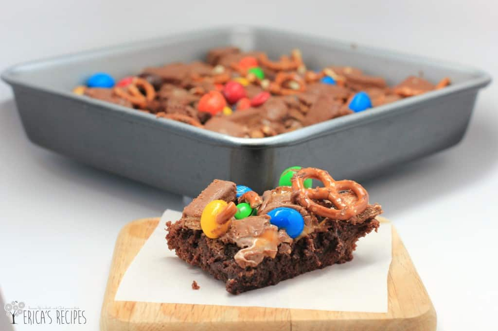 Raid-Your-Kids' Halloween Candy Brownies
