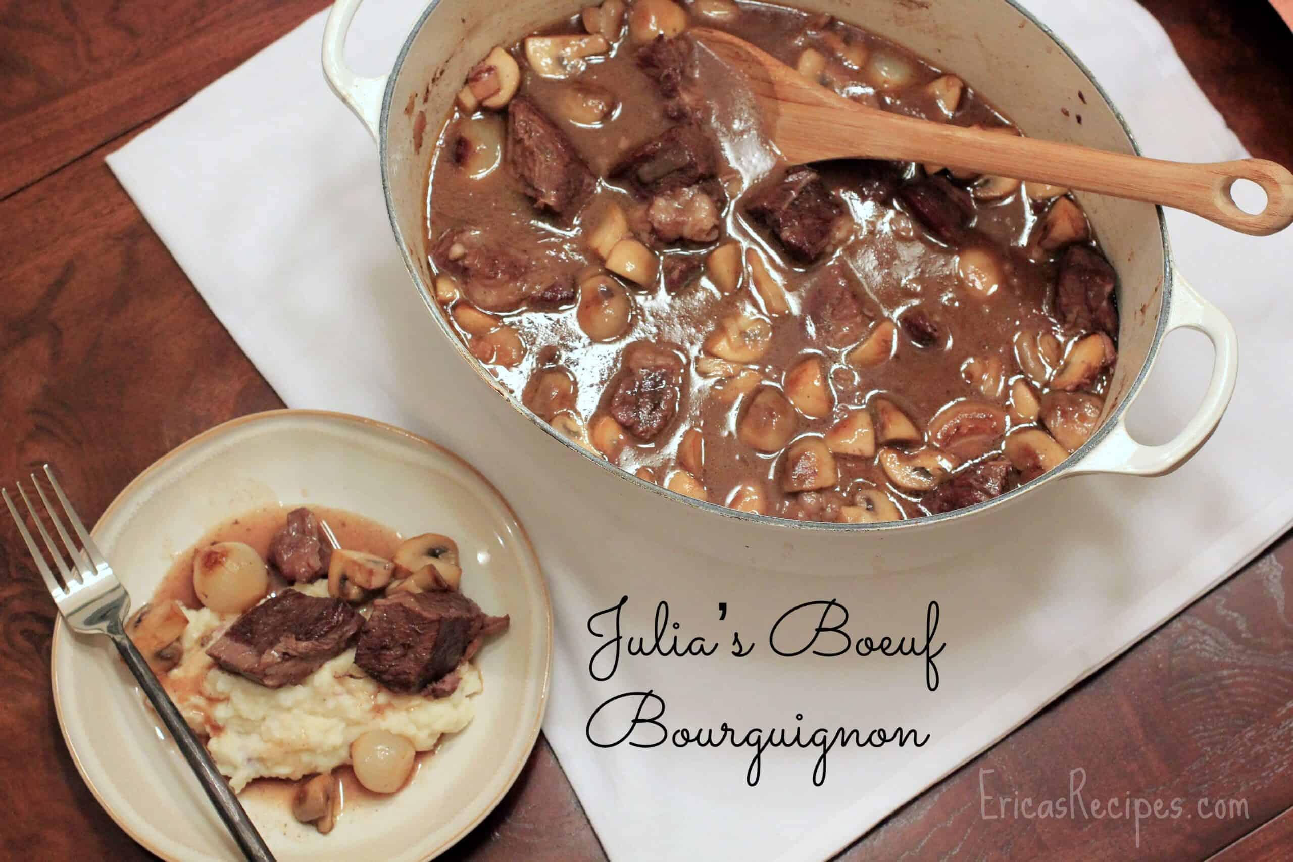 Julia's Boeuf Bourguignon