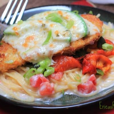 Mexicali Chicken Parmesan