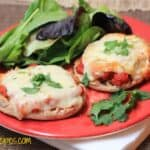 Mexican English Muffin Pizzas