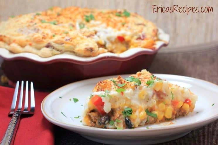 Mexican Shepherd's Pie from EricasRecipes.com