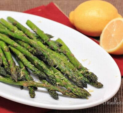 Simple Roast Asparagus with Lemon