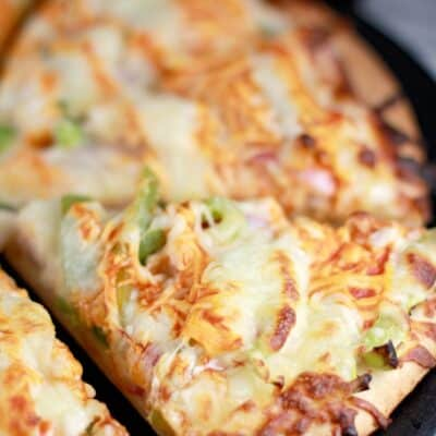 Buffalo Turkey Pizza