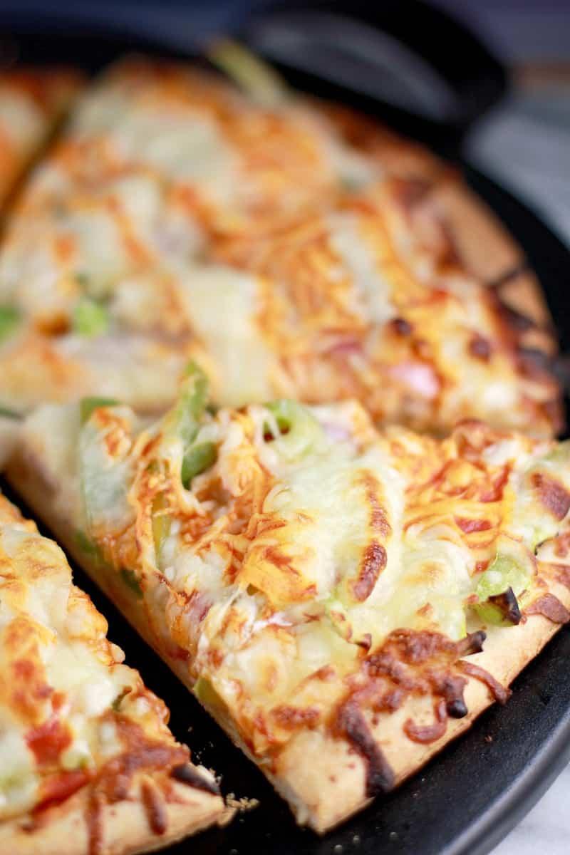 Buffalo Turkey Pizza