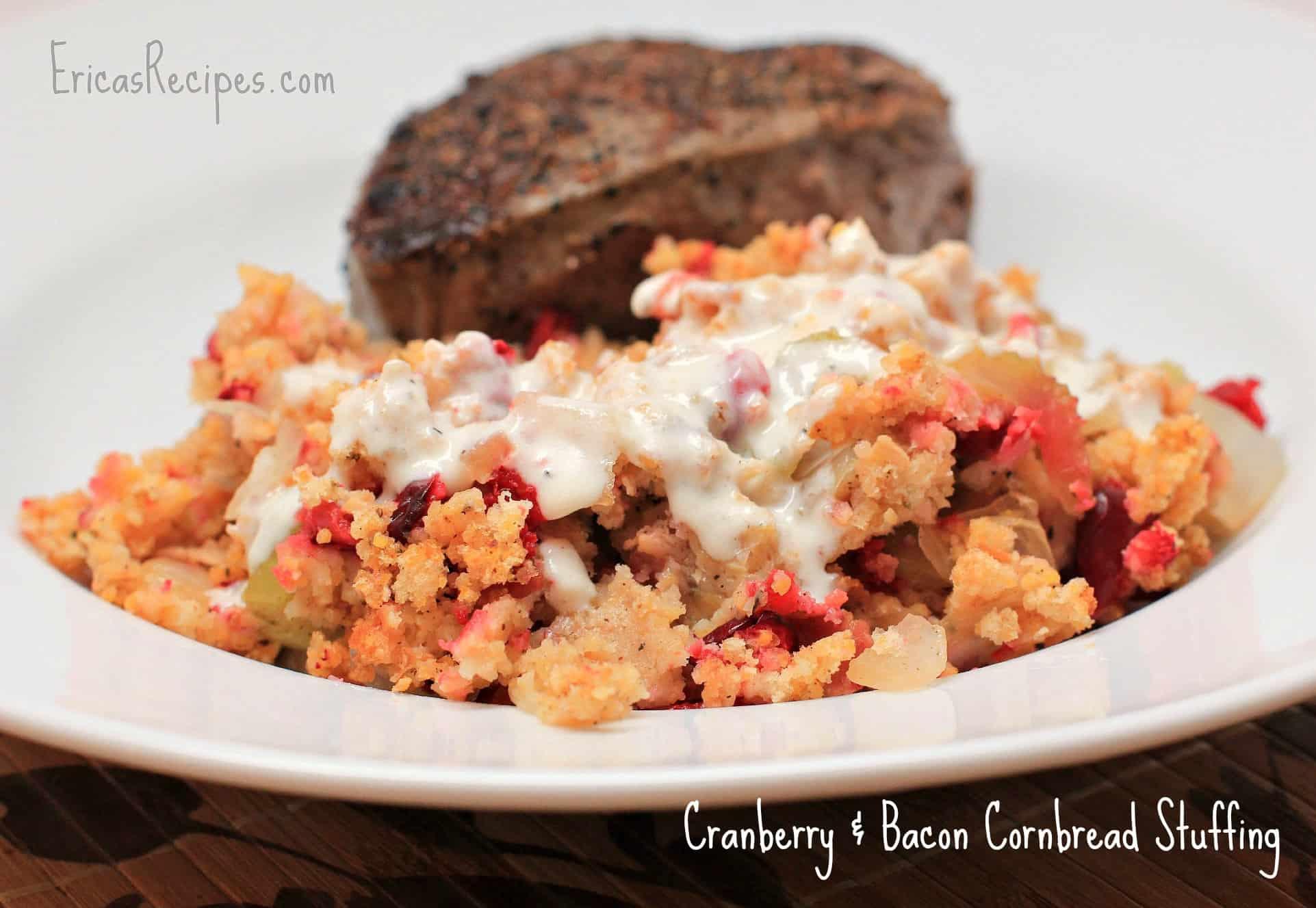 Cranberry & Bacon Cornbread Stuffing