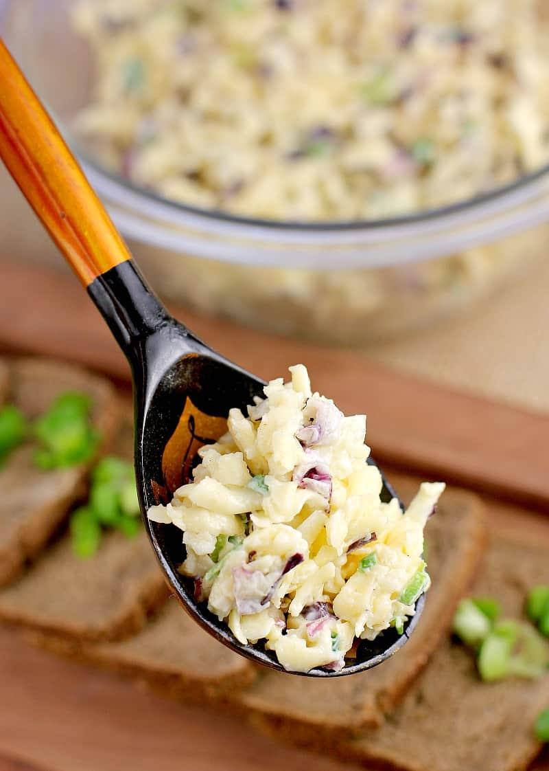 Russian Garlic Cheese