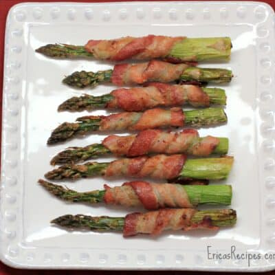 Bacon-Wrapped Roast Asparagus