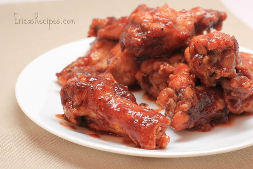 Crock-pot Cranberry BBQ Chicken Drummies