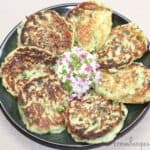 Garlicky Spinach-Potato Cakes