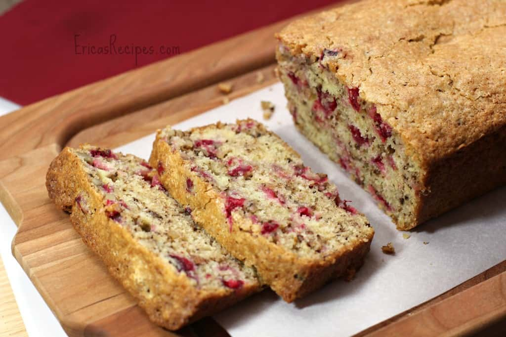 Grammy Peggy's Cranberry Bread