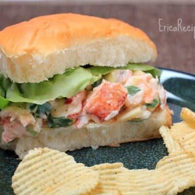 Sweet Hawaiian Lobster Roll