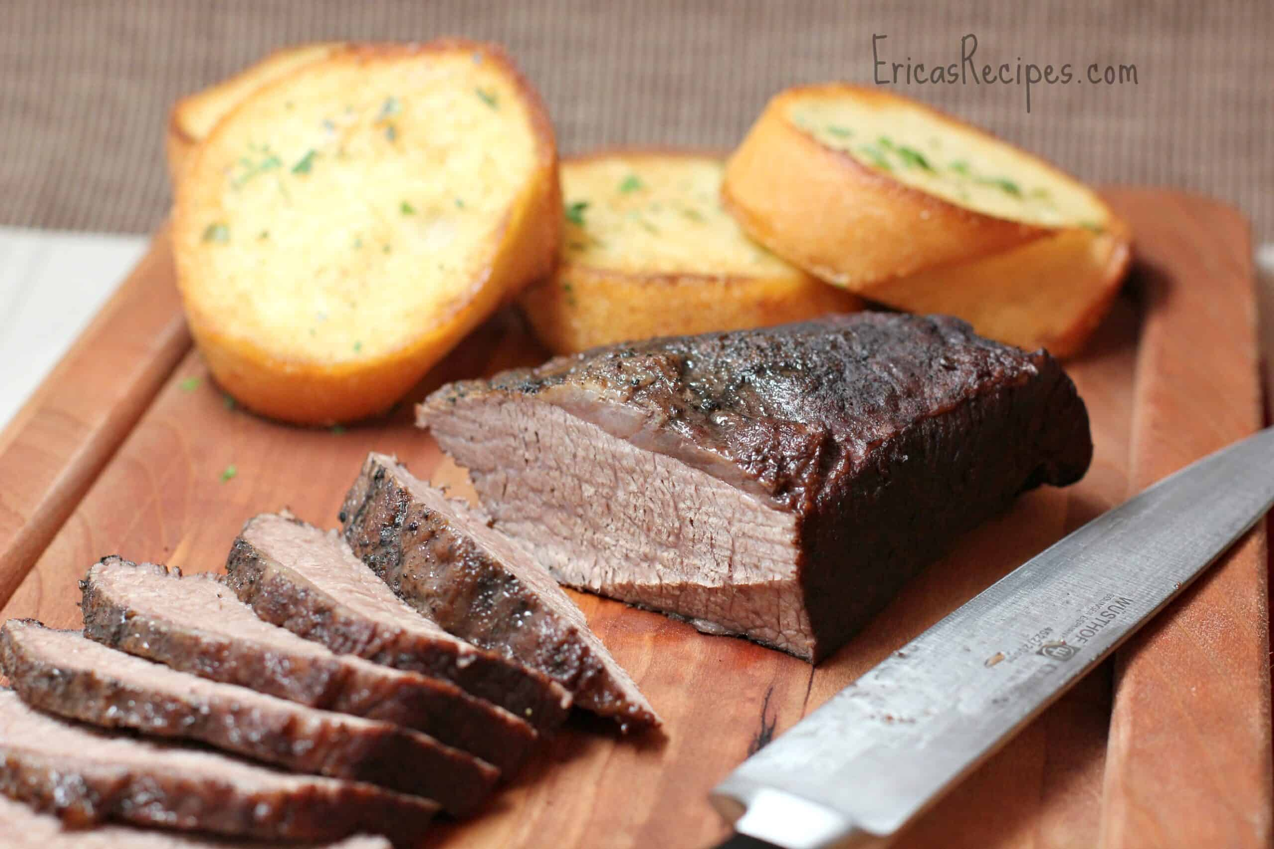 Smoky Slow-Cooker Beef Brisket