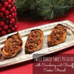Twice Baked Sweet Potatoes EricasRecipes