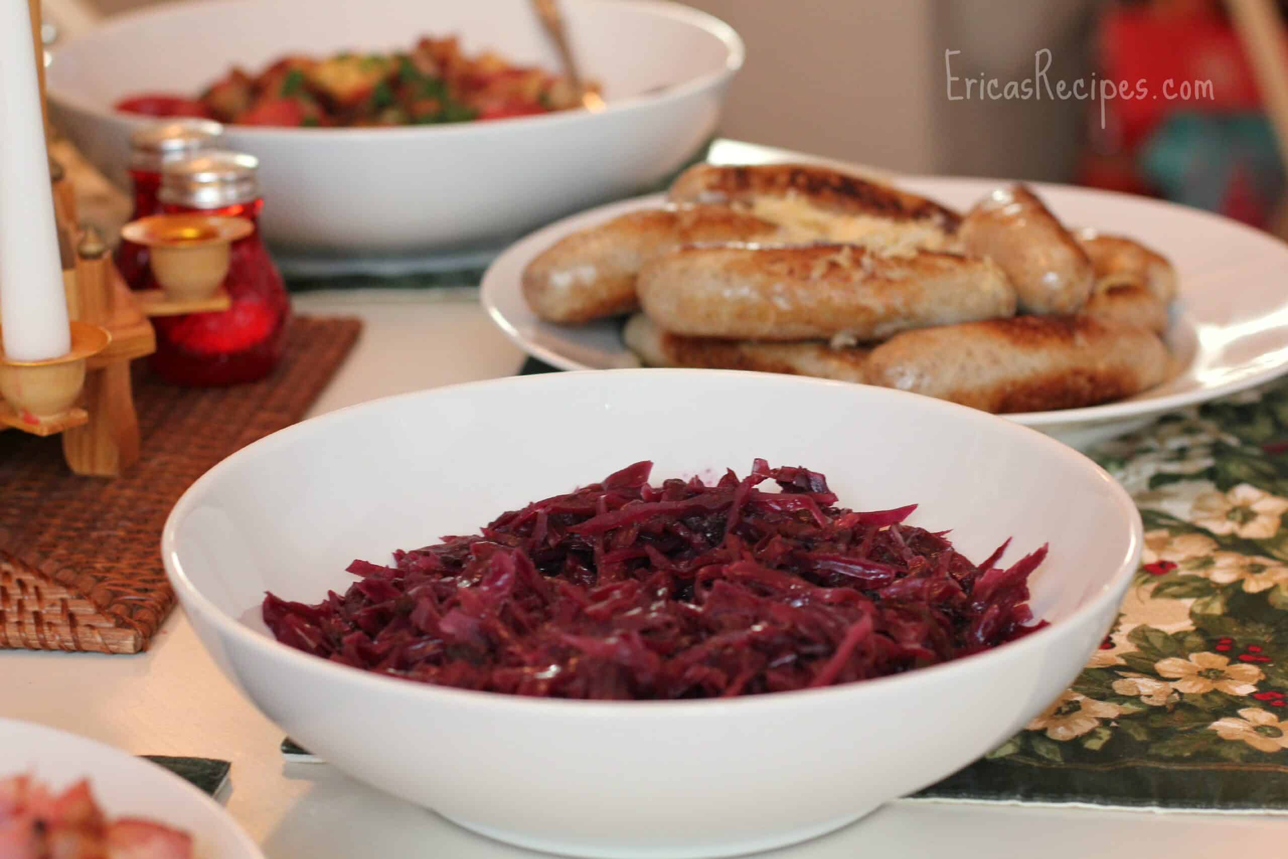 German Braised Red Cabbage