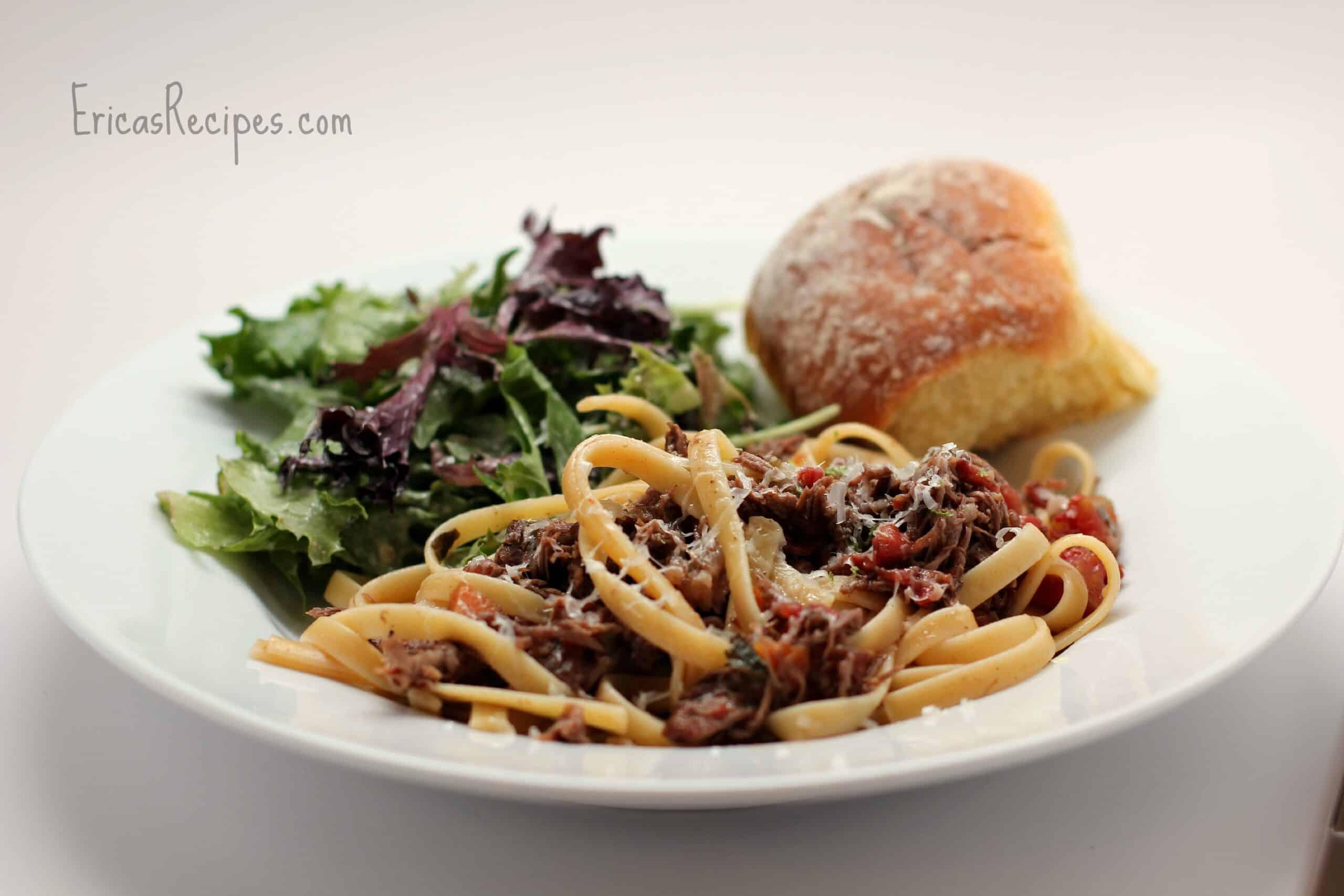 Slow Cooker Italian Beef Short Ribs