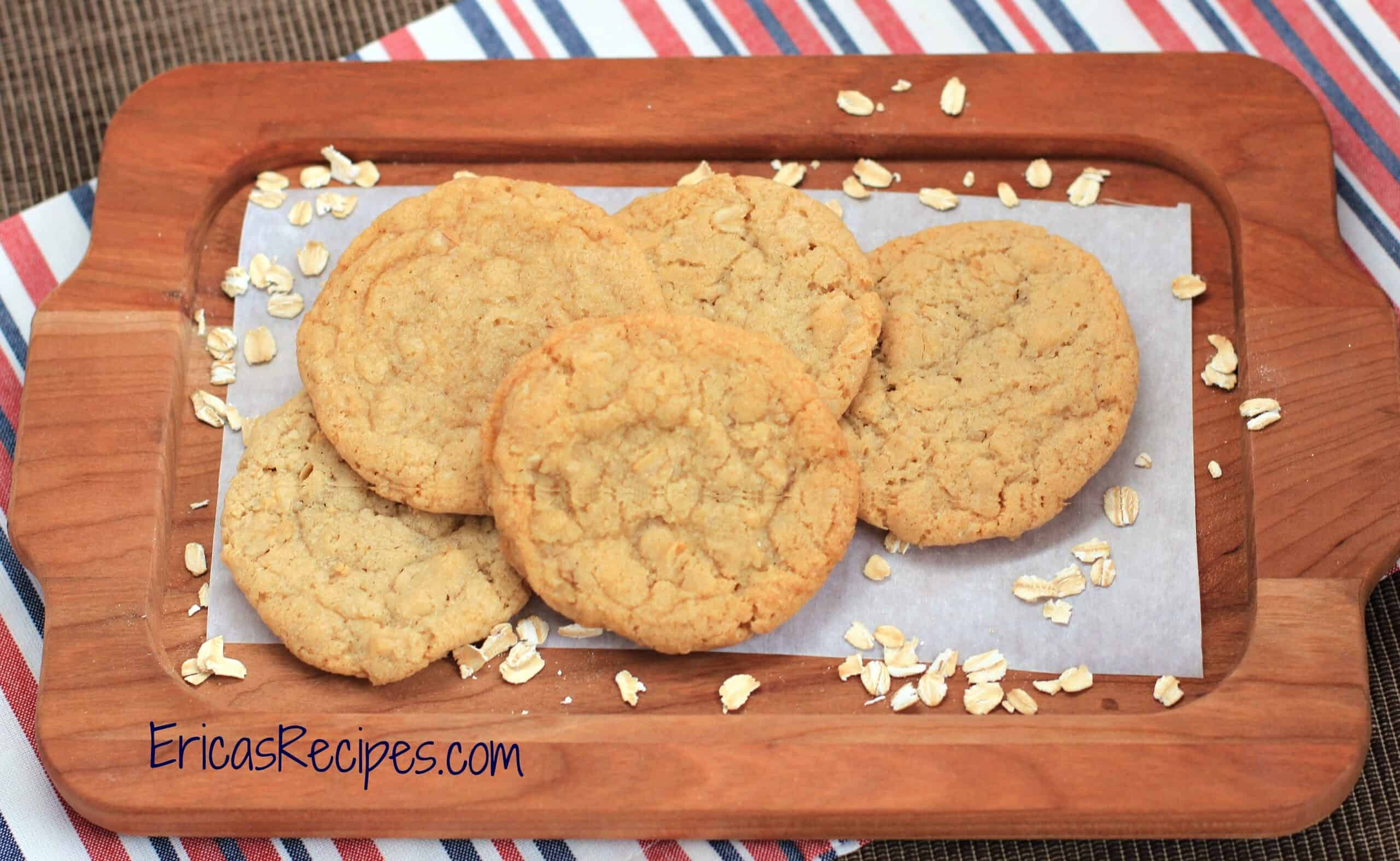 Grammy Peggy's Oatmeal Cookies