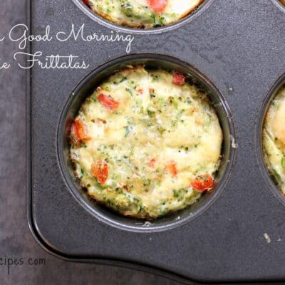 Super Good Morning Veggie Frittatas