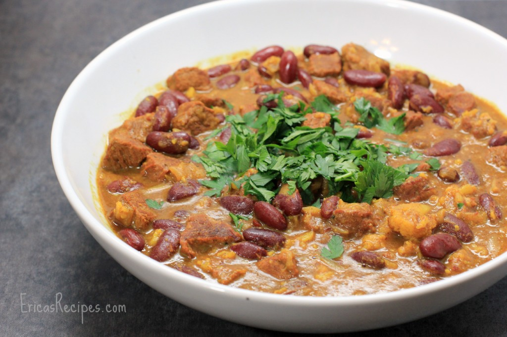Beef and Bean Khoresh (Persian Stew)