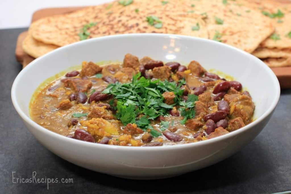 Beef and Bean Khoresh (Persian Stew)