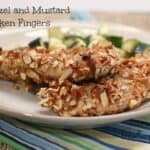 Pretzel and Mustard Chicken Fingers