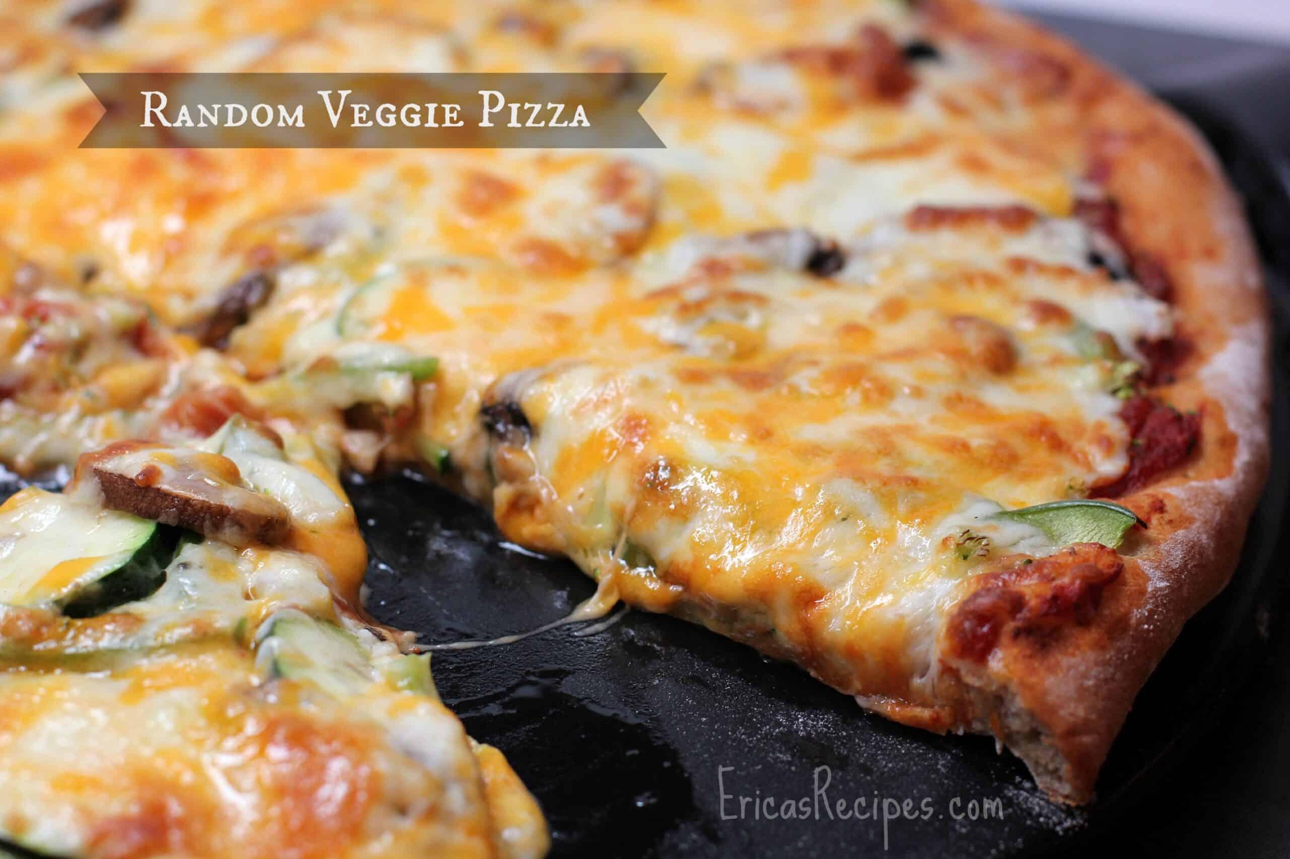 Random Veggie Pizza