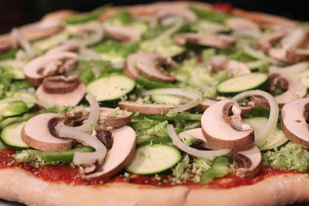 Random Veggie Pizza from EricasRecipes