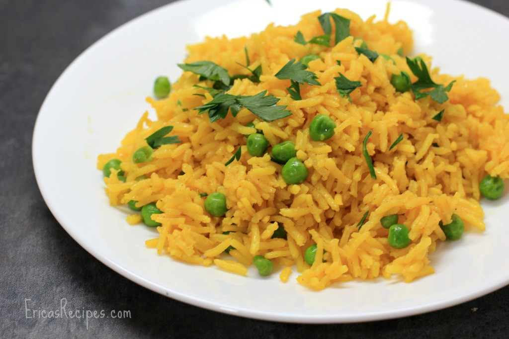 Simple Tumeric Rice from EricasRecipes
