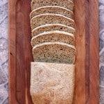 100% Whole Wheat Sandwich Bread | EricasRecipes.com