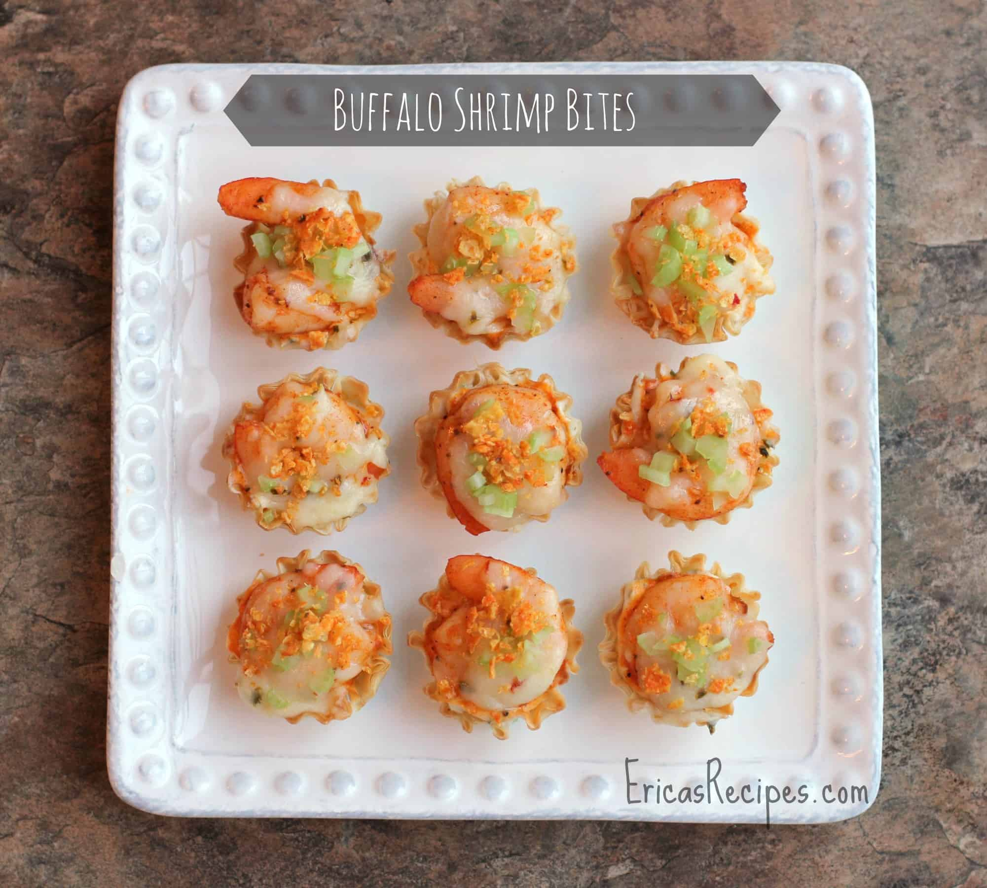 Buffalo Shrimp Bites EricasRecipes